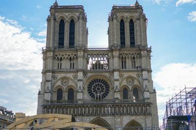 Paris' iconic Notre Dame Cathedral set to reopen in 2024