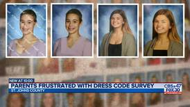 Parents frustrated with dress code survey