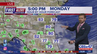 First Alert Weather: Tracking showers, drier days ahead