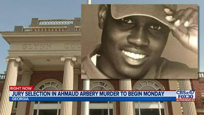 Jury selection in Ahmaud Arbery murder to begin Monday