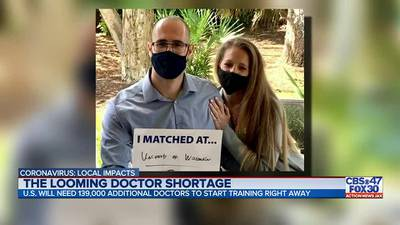 Coronavirus: Jacksonville medical student says COVID-19 pandemic reaffirmed decision to become a doctor