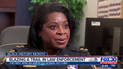 Blazing a trail in law enforcement: Jacksonville Sheriff's Office's first African-American female chief tells her story