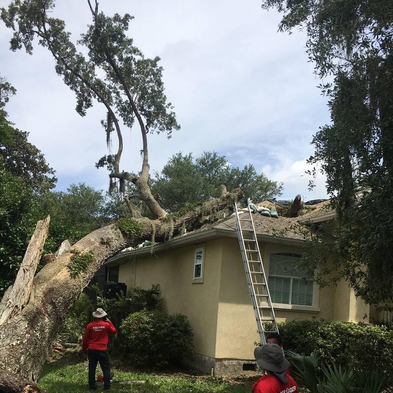 Fernandina Beach woman's home damaged after Tropical Storm Elsa