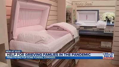 FEMA to reimburse families for COVID-19 funeral costs