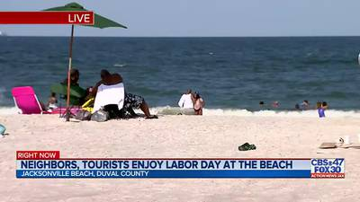 'We've been on patrol since 7 a.m.': Local lifeguards were prepared for busy Labor Day crowd