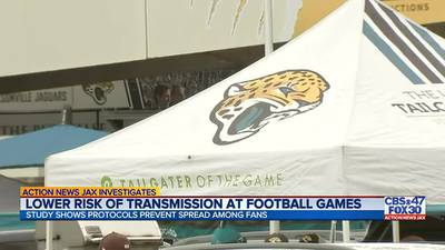 INVESTIGATES: Lower risk of transmission at football games
