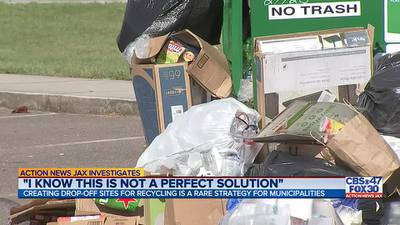 INVESTIGATES: Creating drop-off sites for recycling is a rare strategy for municipalities