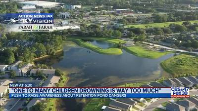 Jacksonville city leaders working to safety-up retention ponds