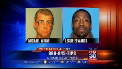 Predator Alert: Michael Winne & Leslie Edwards