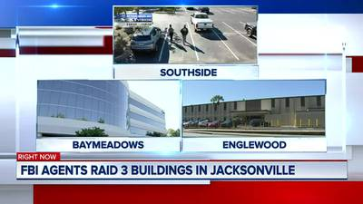 FBI, other agencies raid 3 Jacksonville buildings connected to foreign company
