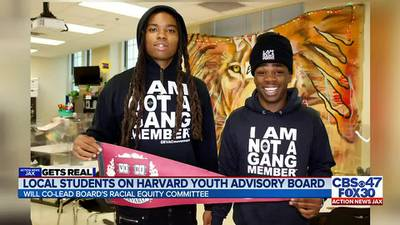 Jacksonville teens selected to co-lead Racial Equality Committee at Harvard