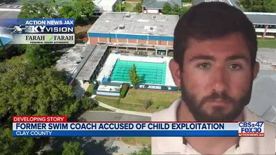 St. Johns Country Day School former swim coach accused of trying to solicit child online