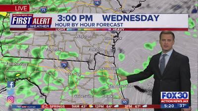 First Alert Weather: Tracking rain Wednesday