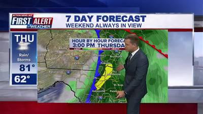 First Alert 7 Day Forecast: October 26, 2021
