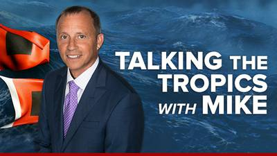 Talking the Tropics With Mike: Short-lived tropical storm Odette forms over W. Atlantic