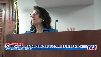 Questions about evidence made public during jury selection