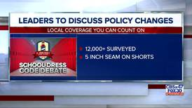 Leaders to discuss school dress code policy