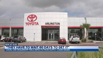 Local car dealership feels impacts from supply chain issues