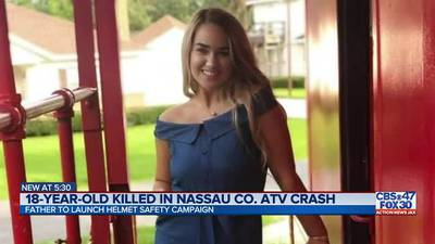 Father of Ashlynn Smith, 18, announces ATV safety campaign after Nassau County teen's death
