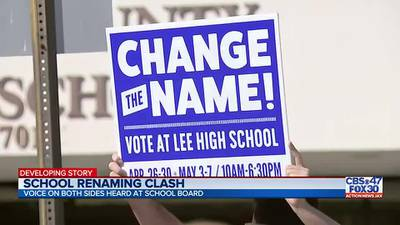 Renaming proposal sparks tense confrontations, 58 public commenters, at Tuesday school board meeting