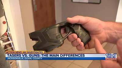 Local law enforcement taser & handgun training