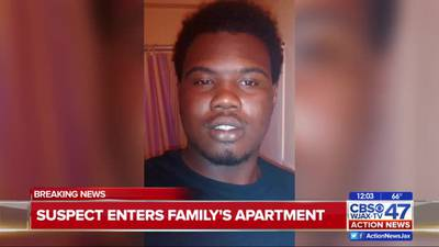 Family that lives in home that domestic violence suspect broke into speaks