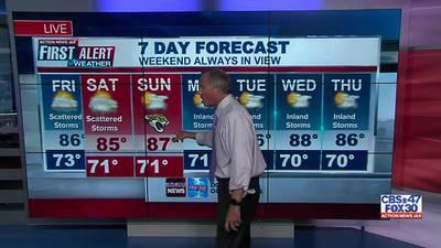 First Alert 7 Day Forecast: September 16, 2021