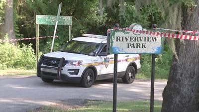 Pregnant female found dead inside Riverview Park