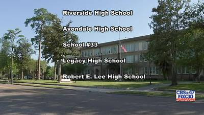 Names appearing on ballot finalized for Robert E. Lee High School renaming vote
