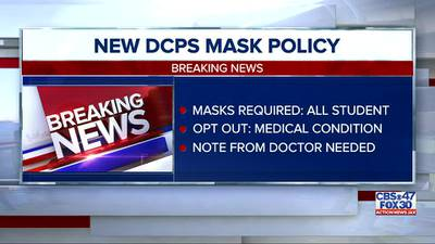 Duval County Public Schools unveils its mask requirement policy