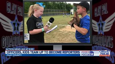 Family Focus: Officers, kids team up to become reporters