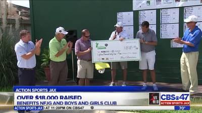 Action Sports Jax Dream 18 golf tournament donates $18K to charity
