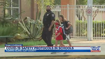 Clay County students head back to school Tuesday with continued safety measures in place