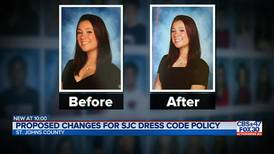 Proposed changes for SJC dress code policy