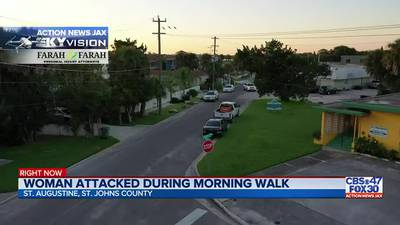 Woman attacked during morning walk in St. Augustine
