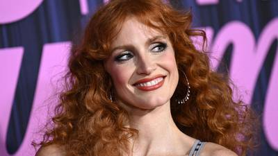 Photos: Jessica Chastain, other stars walk 'The Eyes of Tammy Faye' red carpet