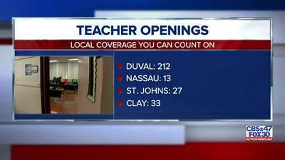 Florida needs more than 5,000 teachers, Florida Education Association says