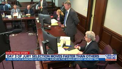 Day 3 of jury selection moves faster than others