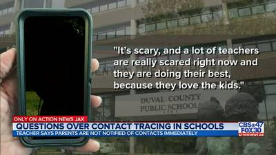 'It's scary': Local teacher says parents aren't being notified immediately of COVID-19 cases