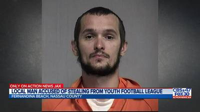 Former president for youth football program in Fernandina Beach accused of stealing more than $16K in club funds