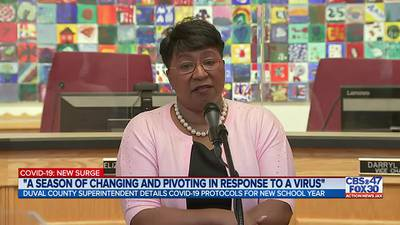 Duval County superintendent provides update to COVID-19 protocols ahead of the new school year