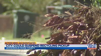 INVESTIGATES: City could suspend recycling pickup