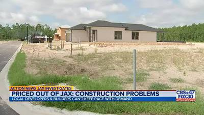 Priced out of Jax: Homebuilders struggling to keep up