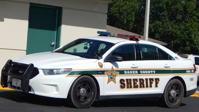 Man collides with Baker County Sheriff's Office patrol car, arrested for DUI