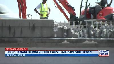 FDOT: Long-term Buckman Bridge repair expected in 'next several weeks'