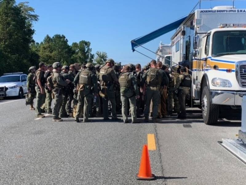 Search continues for suspect who shot Nassau deputy