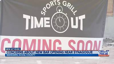 Permit issued for Time Out Sports Grill, 100 feet from Mandarin synagogue