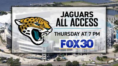 Watch Jaguars All Access on FOX30 on Thursdays at 7 p.m.