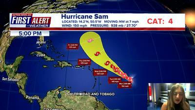 First Alert Forecast: Sunday, September 26 - Early Evening