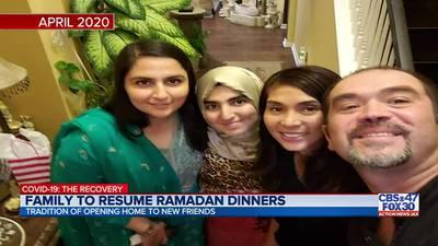 Local family brings back Ramadan tradition